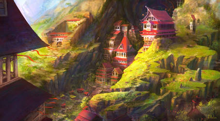 Forbidden City of the Frozen - Sunny Version