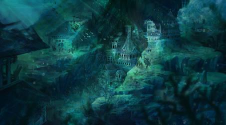 Forbidden City of the Frozen - Underwater Version
