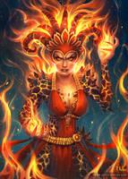 Fire Queen by ARTdesk