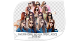 Pack PNG #47: Yoona, SeoHyun, Tiffany and Jessica