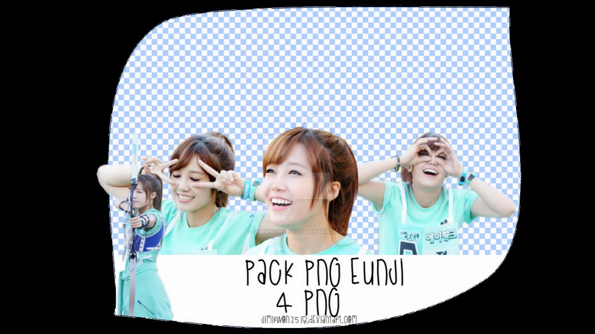 Pack PNG #59: EunJi (A Pink) by jimikwon2518