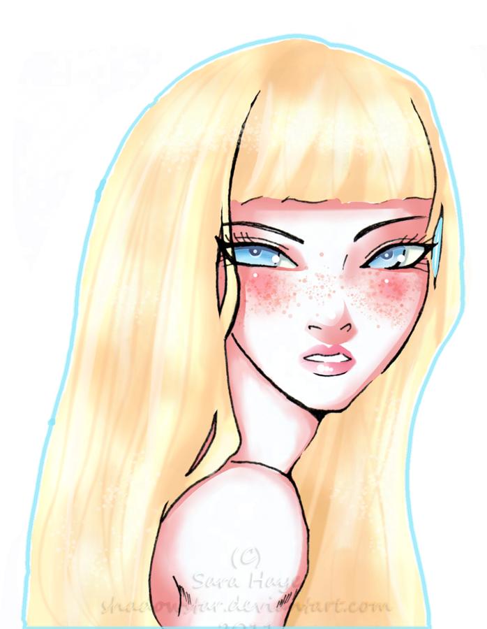 Freckles Make Everyone Cuter by Shadowstar