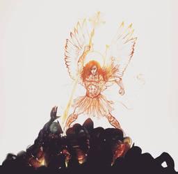 Michael the Archangel  by MichaelAlverastine