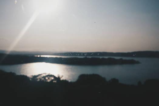 Morning of Lake Abashiri