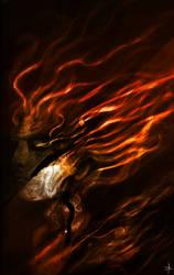 Fire Demon by ChrisNazgul