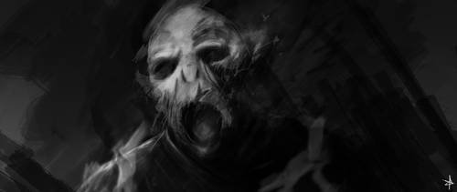 Voldemort Death by ChrisNazgul