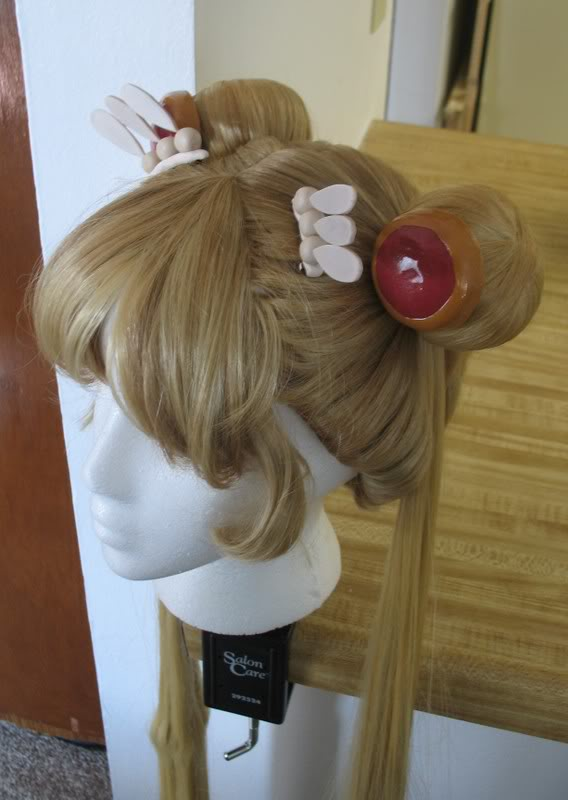 Dyed Sailor Moon Wig Commission by nessabutterfly