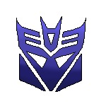 Decepticon pixel (free to use) by Azure-law