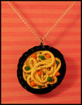 Bowl O' Noodles -- Necklace