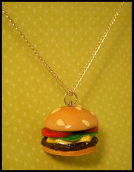 The Good Burger -- Necklace