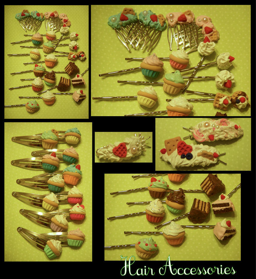 Preview -- Hair Accessories by poketheyolk