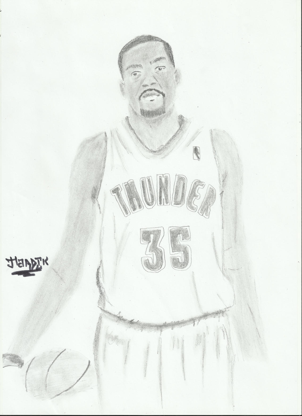 nba kevin durant sketch by hardik9 nba kevin durant sketch by hardik9 - Kevin Durant Shoes Coloring Pages
