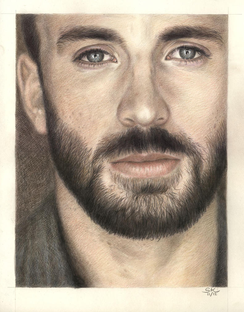 Chris Evans by Susie-K