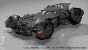 Batmobile Batman V Superman 02