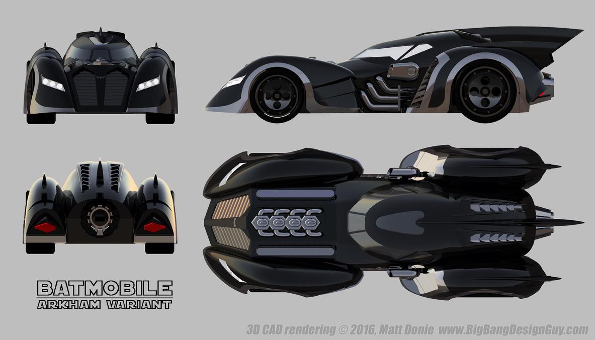 Batmobile Arkham Asylum Schematics by Ravendeviant on DeviantArt