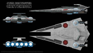 Criterion Class Star Destroyer by Ravendeviant