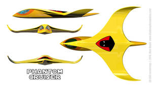 Space Ghost's Phantom Cruiser Schematics