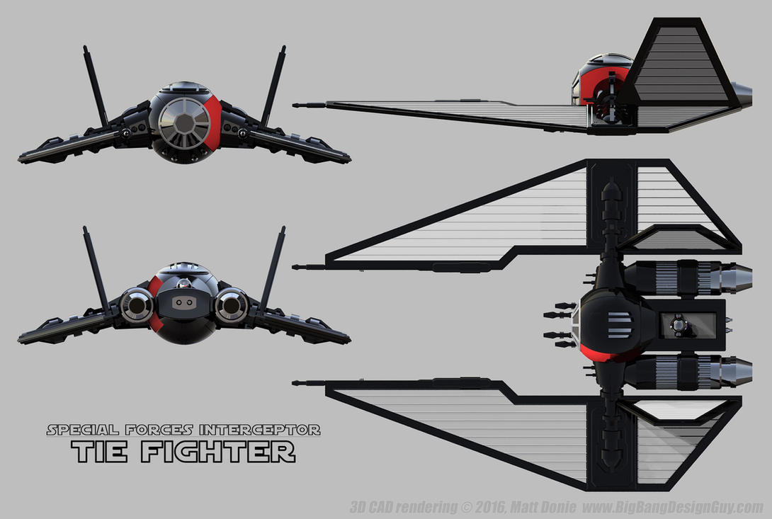 Tie Sfi Schematic By Ravendeviant On Deviantart