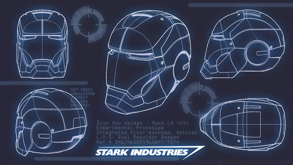 Iron Man Blueprint