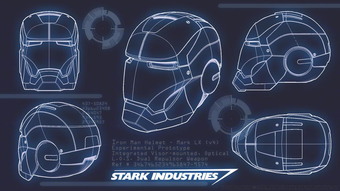Delightful Iron Man Blueprint By Ravendeviant ...