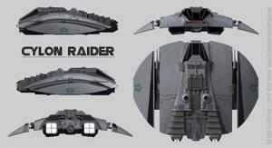 Cylon Raider Schematics