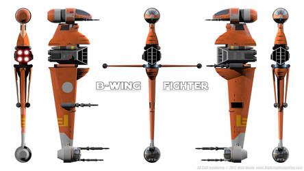 B-Wing Schematic by Ravendeviant