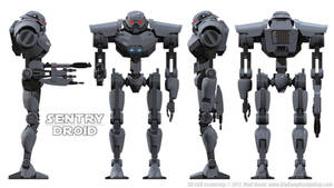 Imperial Sentry Droid Schematics 01