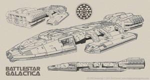 Battlestar Galactica Sketches