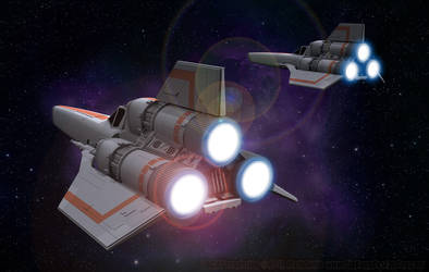 Colonial Vipers - Returning to Galactica