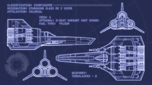 Colonial Viper Blueprints