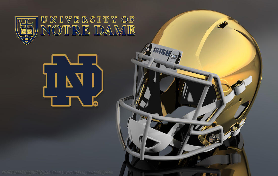 University of notre dame football helmet 01 by - Notre dame football wallpaper ...