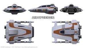 Airspeeder / Snowspeeder Schematics