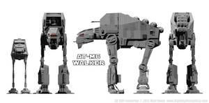 AT-M6 Walker - Size Comparison