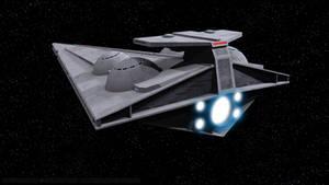 Imperial Interdictor - Rear View