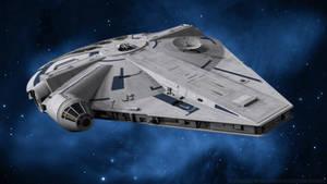 Millennium Falcon - Solo by Ravendeviant