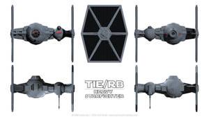 TIE/rb Heavy Starfighter - Schematics by Ravendeviant