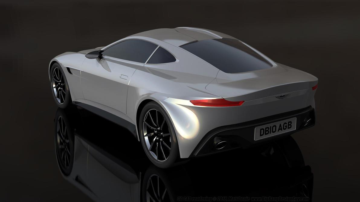 James Bond Aston Martin DB Quarter Rear By Ravendeviant On - James bond aston martin db10