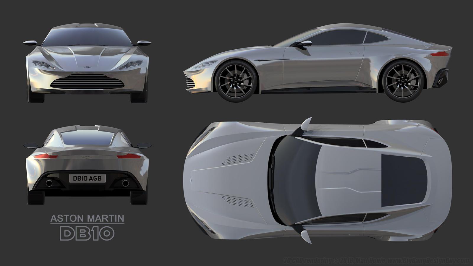 Aston Martin Db10 James Bond 007 Car Schematics By Ravendeviant On Deviantart