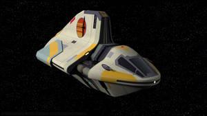 Phantom II Sheathipede-Class Shuttle - Portrait