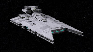 Gladiator-Class Star Destroyer - Portrait