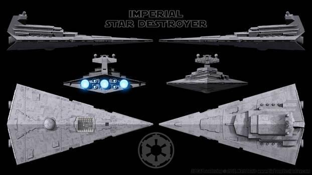 Imperial Star Destroyer - Schematics