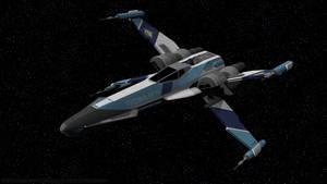 T-85 X-Wing Starfighter - Portrait