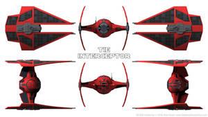 First Order TIE Interceptor - Schematics
