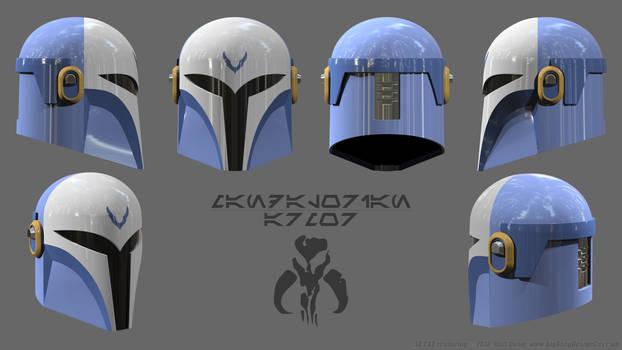Mandalorian Helmet Schematics