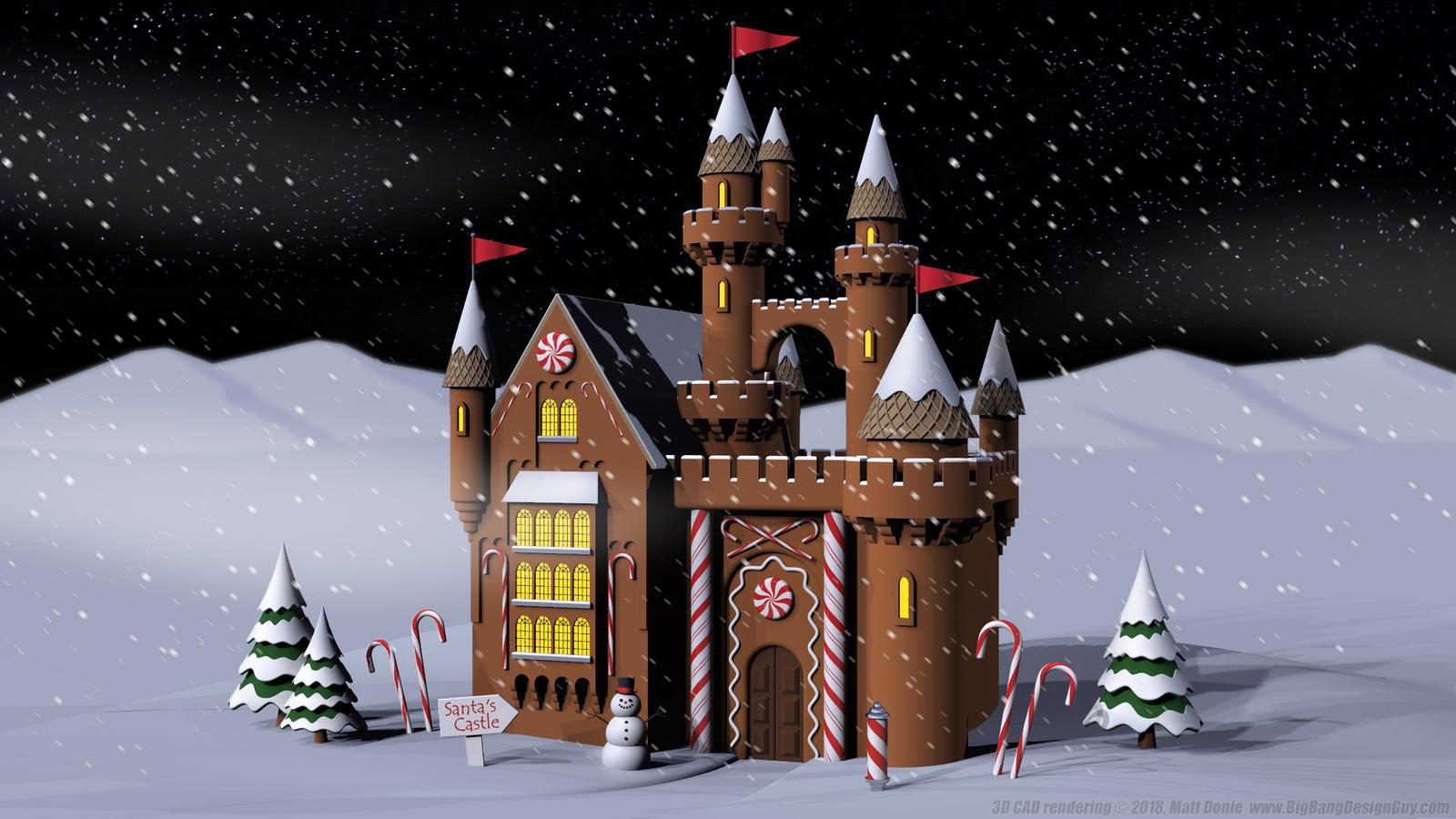 Santa S Gingerbread Castle By Ravendeviant On Deviantart,Ikea Raskog Rolling Cart