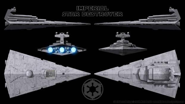 Imperial Star Destroyer - Schematics - Revised