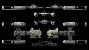 Super Y-Wing - Schematics by Ravendeviant