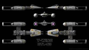 Y-Wing Schematics - 2-Person Variant
