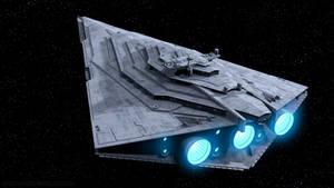 Resurgent Class Star Destroyer Breaks Orbit by Ravendeviant