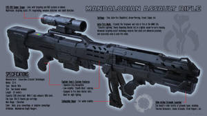Mandalorian Assault Rifle - Schematics